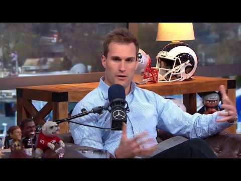 Vikings Blog - Vikings QB Kirk Cousins reads his negative draft report card w/Dan Patrick