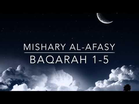 Surah Baqarah 1-5 | Mishary Al-Afasy