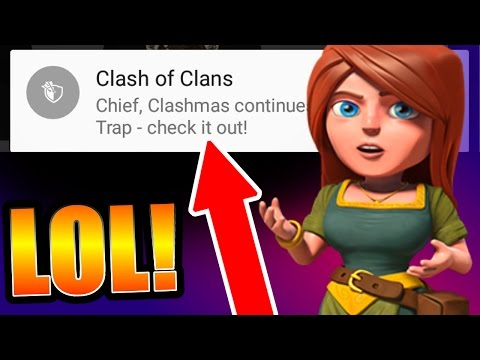 CLASH OF CLANS UPDATE LEAKED BY SUPERCELL!! - NEW TRAP (Freeze Trap) CONFIRMED FOR CHRISTMAS!