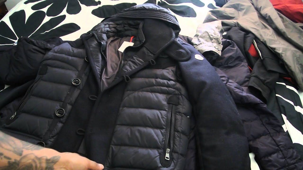 8eb4fe316c56 Mens Moncler Jacket Collection Part 3 - YouTube