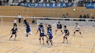都築仁 新井雄大 中央大学vs東海大学 東日本インカレ2018男子準々決勝 第4セット 男子バレーボール