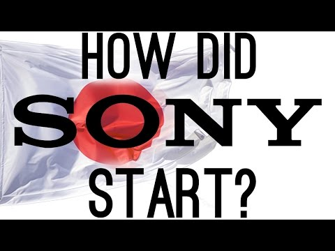 How Did Sony Start? (The Origins of Sony)