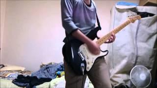 耳コピして弾きましたー。 ギター:fenderのストラト マルチ:zoomG2.1nu.