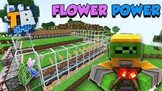 Flower Farm | Minecraft Bedrock Let's Play | Truly Bedrock Season 1 Episode 4