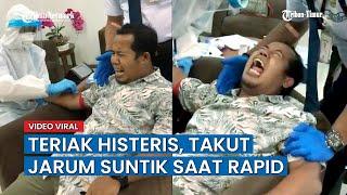 Download Lagu Video Lucu, 3 Kali Mau Disuntik untuk Rapid, Pria Ini Menjerit Histeris mp3