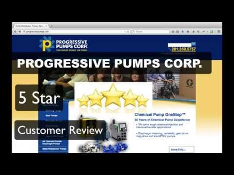 Progressive Pumps Reviews Houston - (281) 350-5757