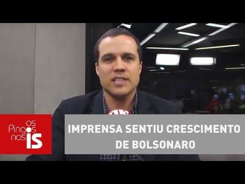 Felipe Moura Brasil: Imprensa Sentiu Crescimento De Bolsonaro