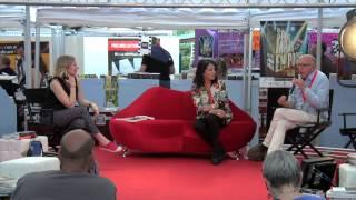 Catherine Velle & Jean-Pierre Alaux avec Mélanie Morin - Café litt - SMEP 2015
