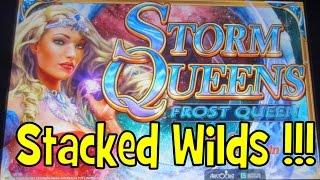 Aristocrat - Storm Queens!  Stacked Wilds!