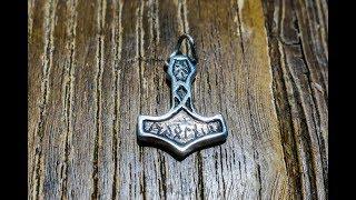 Making A Silver Mjølner  Thors Hammer