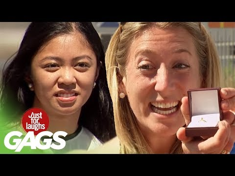 Facetime Proposing to People on the Street Prank! - Just For Laughs Gags