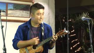 "EDEN KAI ""Wood on Tap"" Ukulele (original) Live TV  Performance Hawaii World Music 2016 Best"