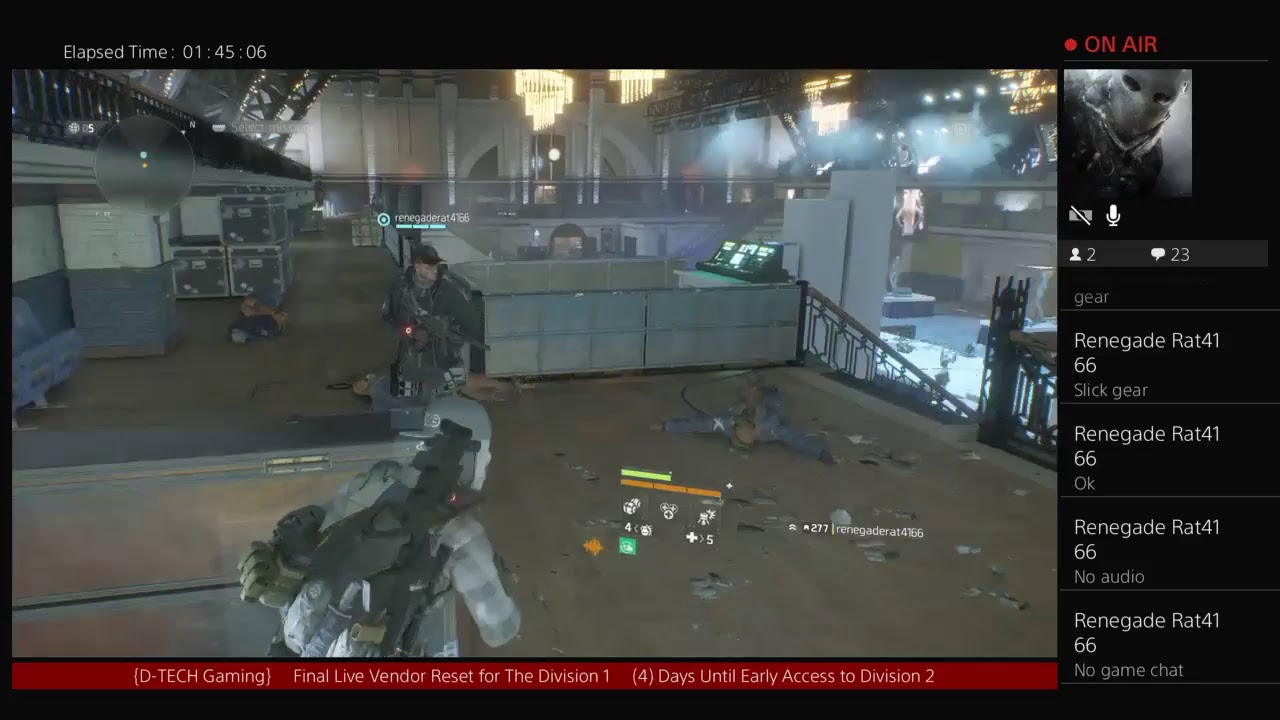 Live Vendor Reset for The Division 1 3/8/2019 (Tom Clancy's The Division)