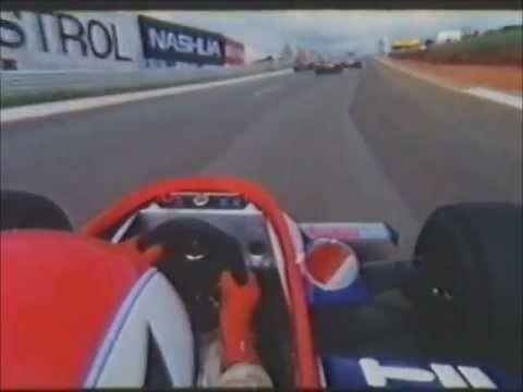 F1 onboard camera!! Clay Regazzoni at Kyalami South Africa 1980