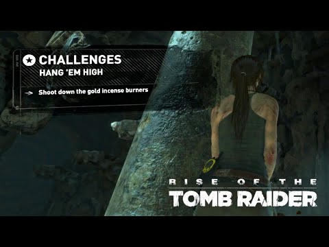 Rise of the Tomb Raider · Hang 'Em High Challenge Walkthrough Video Guide