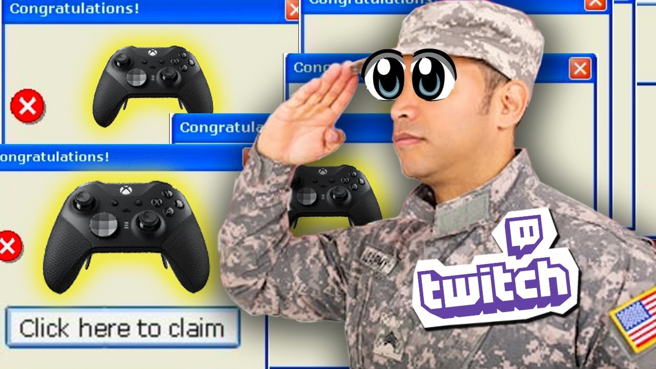 US Military runs fake Twitch Contest
