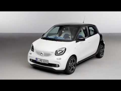 The new smart forfour - studio Trailer | AutoMotoTV - AutoMotoTV  - cV5lT_cnvlw -