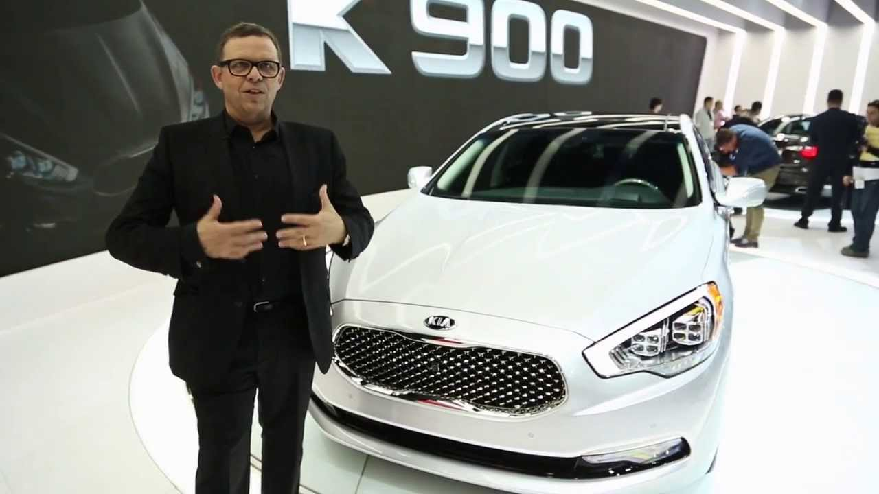 2015 kia k900  designer walkaround with peter schreyer