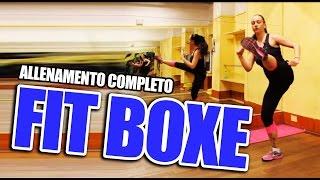 Fit Boxe: Lezione completa per dimagrire - Allenamento da fare a casa  - Workout per principianti