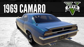 Vigero by Declasse: 1969 Camaro Build [GTA 5 PS4]