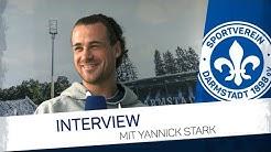 Darmstadt 98   Interview mit Yannick Stark