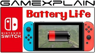Extreme Nintendo Switch Battery Test! Zelda: BotW on MAX Settings