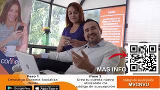 Connect, la primera red social de México QUE TE PAGA POR INVITAR AMIGOS!!
