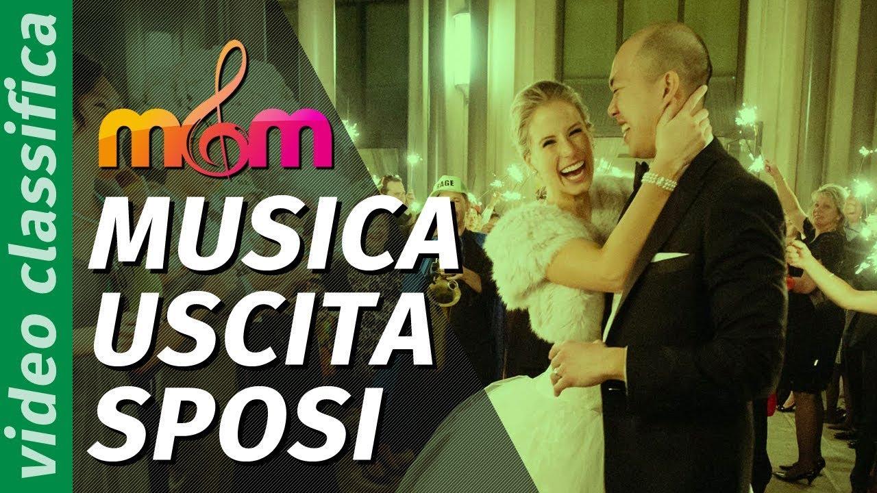 0104bb9f13f9 MUSICA per l uscita degli sposi  le canzoni più richieste per il MATRIMONIO  CIVILE