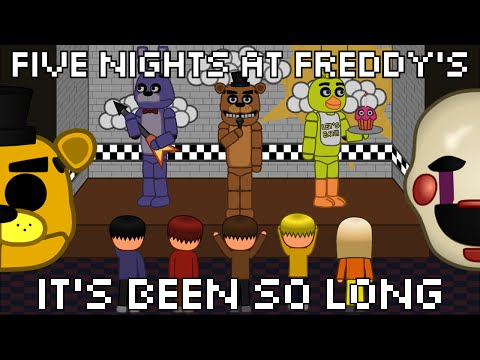 It's Been So Long (FNaF2) animated (ENG/ESP/POR lyrics)
