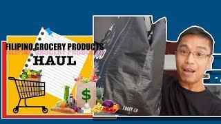 Filipino Grocery Haul - (Bisaya Vlog)