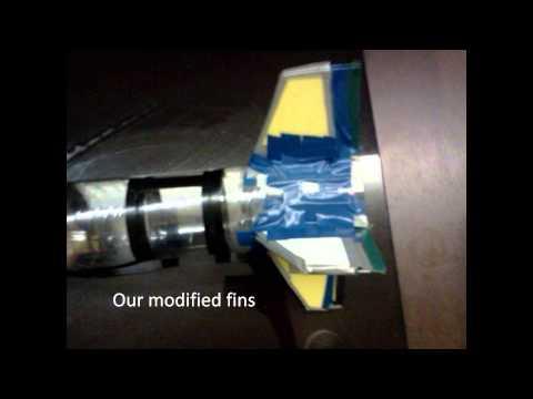 PET Rocket Reflection Video