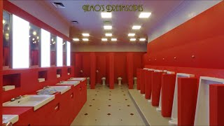You're in The Red Bathroom at a ball in 1921 in The Gold Room (Overlook Hotel ambience) 3 HOURS ASMR