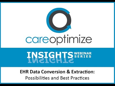 Insights17 -  EHR Data Conversion and Extraction