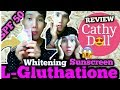 Instant Skin Whitening - Cathy Doll L-Glutathione Magic Cream Review in 7 ELEVEN