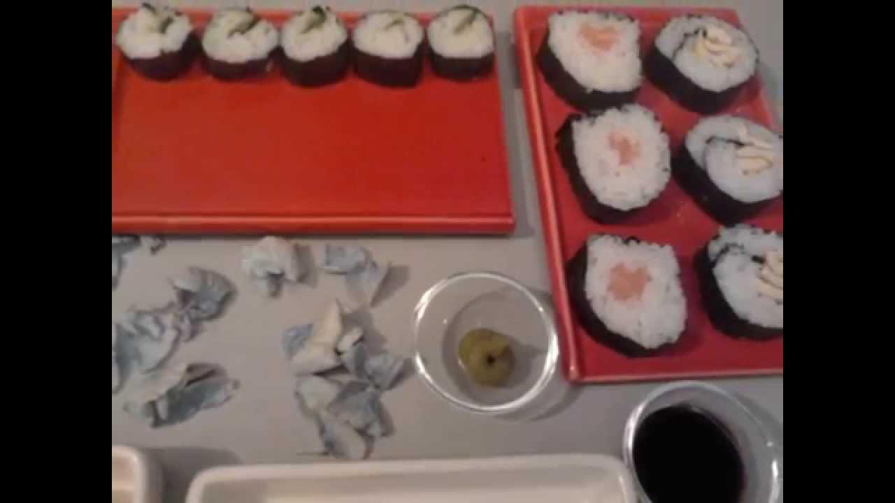 come fare il sushi in casa ricetta