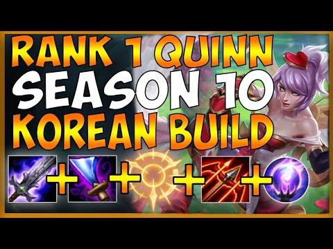 #1 QUINN PLAYS KOREAN ON-HIT QUINN BUILD AGAINST MALPHITE TOP S10 (BIG COMEBACK) - League Of Legends