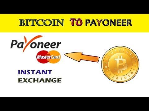 How To Deposit Bitcoin Payoneer Bank Account 2018-2019