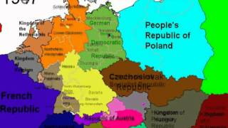 Political Borders of Germany from 1789 to 2005