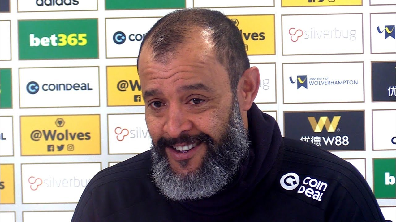 Image result for Nuno Espirito Santo press conference