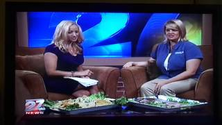 Rebecca Nelson Featured on WKOW 27, Madison, WI, TV, June 19 2013