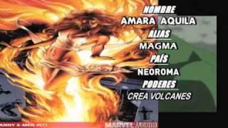 Nuevos Mutantes de Marvel (Reportaje de Kaboom)