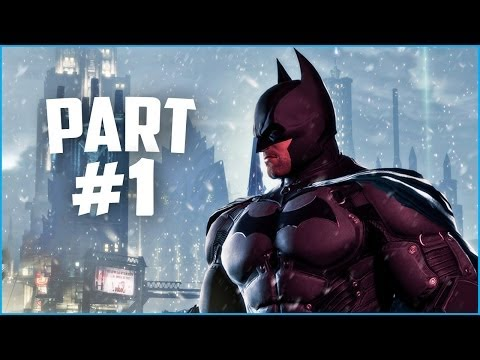 Batman: Arkham Origins Gameplay Walkthrough Let's Play Part 1
