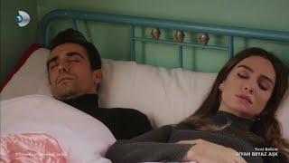 Siyah Beyaz Aşk 17.Bölüm | Aslı Ve Ferhat Aynı Yatakta Uyanıyor!