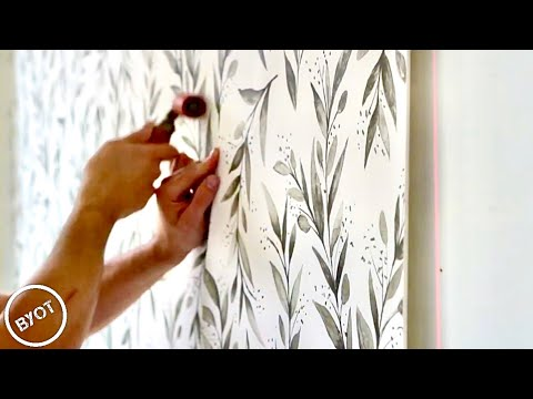 HOW TO INSTALL WALLPAPER LIKE A PRO : START TO FINISH TUTORIAL