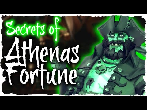 SECRETS OF ATHENA'S FORTUNE // SEA OF THIEVES - #SeaOfThieves