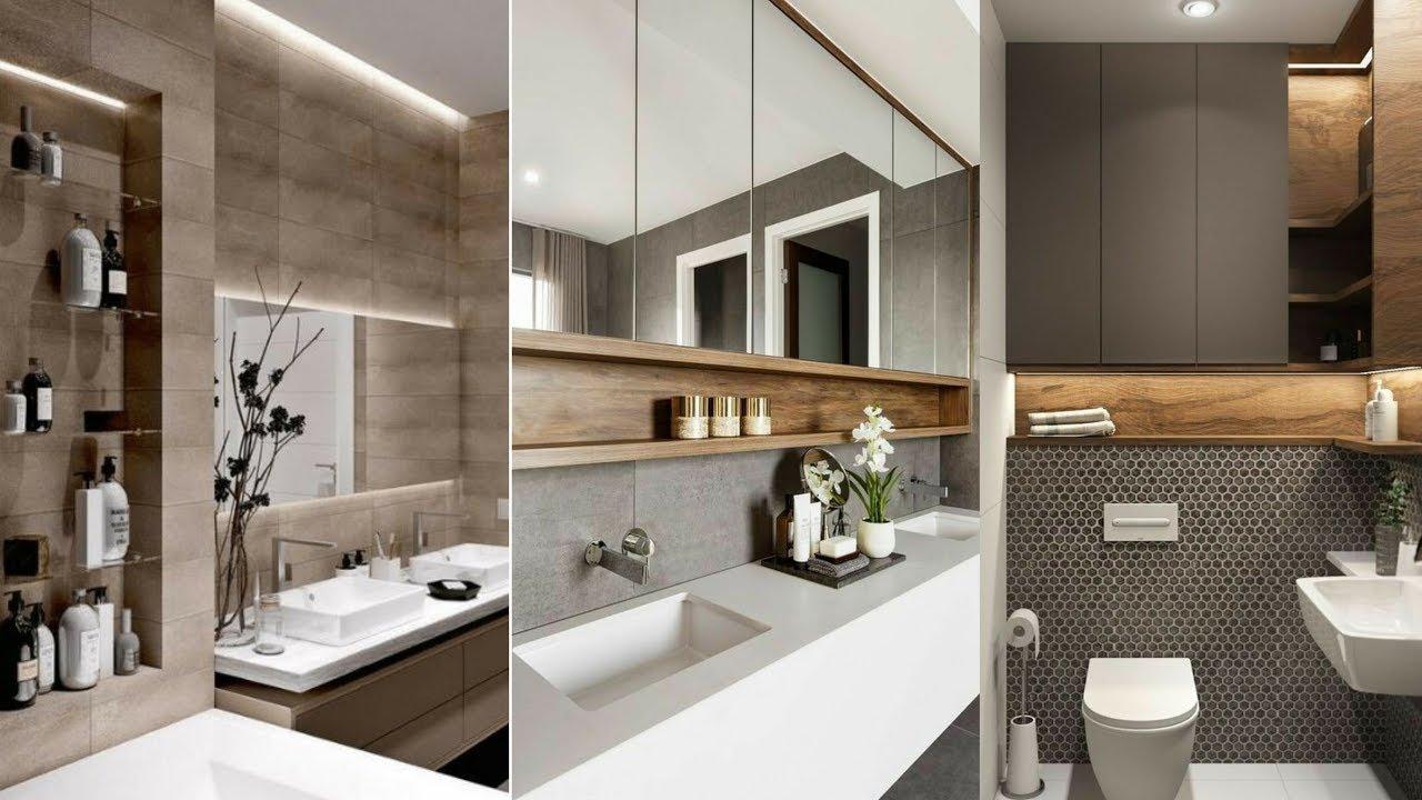 Modern Bathroom Wall Shelves Design Small Bathroom Wall Decor Bathroom Wall Storage Ideas 2020 Youtube