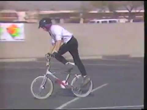101 Tricks Part Two - old school bmx freestyle How-To