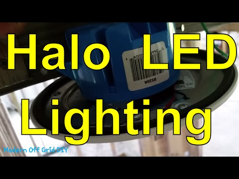 Off Grid Living - Halo Led Surface Downlight - Off Grid Lighting Ideas - New Off Grid Home