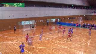 H26年 第23回JOCハンドボール大会大阪VS山梨(ダイジェスト)(女子予選リーグ)