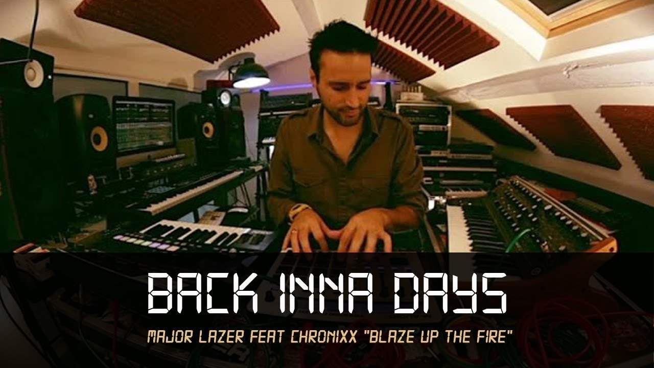 "Download MANUDIGITAL - Major Lazer Feat Chronixx ""Blaze Up The Fire"" - Back Inna Days #5 (Official Video)"